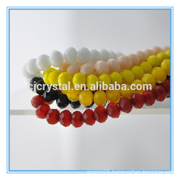 rondelle crystal glass beads 6mm fashion beads