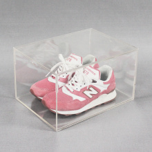 Clear Premium acrylic shoe display case