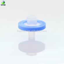 Filtrar solución orgánica Filtración de jeringa PTFE