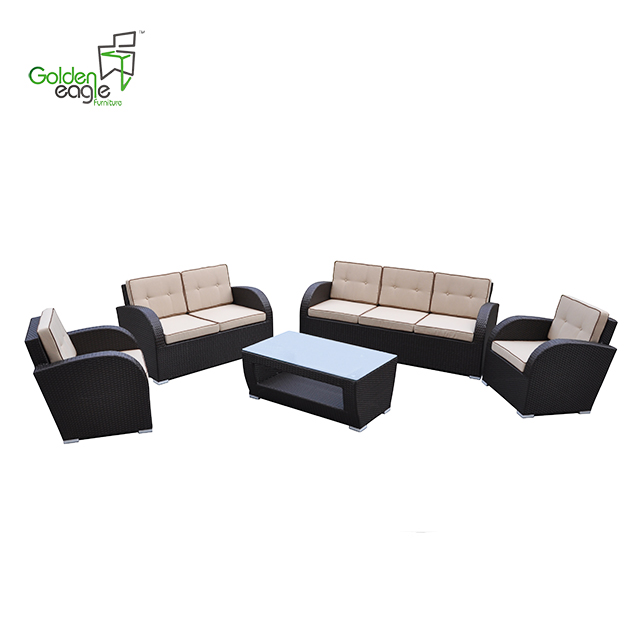 s0106a rattan modular seating sofa