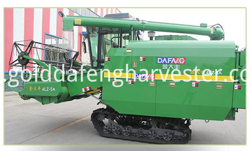 self-propelled rice harvester-CHASSIS 500