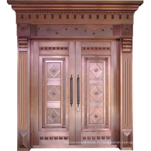 Woodwin New Design Travail artisanal de qualité supérieure Porte en cuivre pur