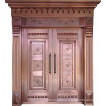 Woodwin New Design Top Quality Handwork Чистая медная дверь