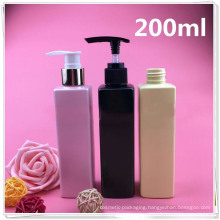Quadrangular Plastic Lotion Bottle for Perfume (NB18901)