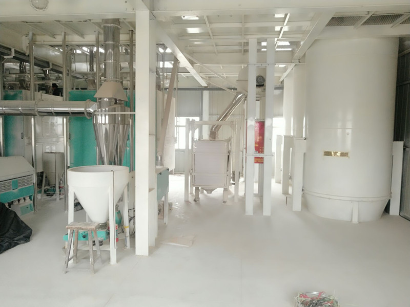 150-300tons large flour mill
