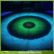 Lumières d'étape de plancher de danse interactive de vente chaude de la Chine RVB LED