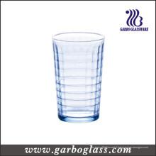 Robinet d'eau en verre bleu 220ml