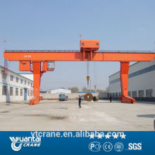 High quality single girder gantry crane 10t
