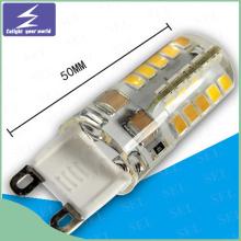 Haute qualité 220V G9 Silicon LED Ampoule