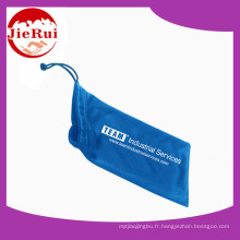 Big Promotion Custom imprimé microfibre lunettes sac