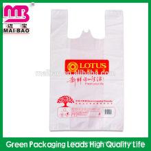 Bequeme Design PO / PE Plastiktasche T-SHIRT BAG für Shopping-Paket