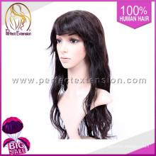 """Compre productos chinos en línea 20 """"peluca natural del pelo largo indio natural del pelo humano del color"""