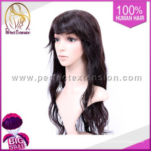 """Acheter en ligne des produits chinois 20 """"perruque de cheveux naturels naturels de cheveux humains de couleur naturelle"""