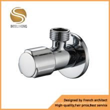 Chrome Plated Brass Angle Valve with Competitive Price (INAG-JF8002A)