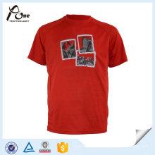 T-shirt feito sob encomenda do futebol do homem da sublimação do OEM