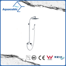 Chromed Shower Tap with Slide Bar and Hand Shower (AF6018-7A)