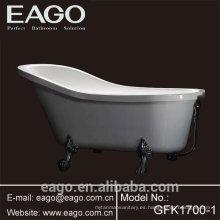 Tinas de baño derechas libres del pie de la garra de acrílico (GFK1700-1)