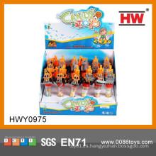Juguetes promocionales de caramelo de juguete de plástico para los niños