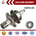 Высокая производительность коленчатого вала двигателя 168FB, стальной кованый коленчатый вал