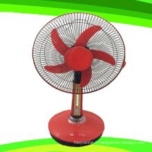 Ventilateur rechargeable de ventilateur de Tableau de support de CC de 5 lames de 16 pouces (SB-T5-DC16C)