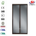 JHK-G01 Automatic Stained Glass Profile Interior Sliding Door