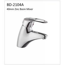 Bd2104A Grifo de lavabo de zinc de 40 mm de una sola palanca