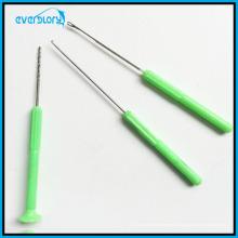Agulha de gancho, agulha Stringer, agulha de broca para a pesca da carpa