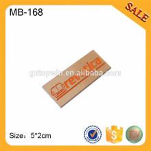 MB168 Oriente Medio placa de muebles logotipos de la marca, adhesivo árabe etiqueta de metal adhesivo