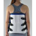 einstellbare Orthese zur Unterstützung der Brustlendenwirbelsäule