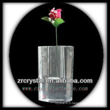 Beau vase en cristal L014