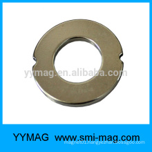 N40 Grade Neodymium Magnet Ring magnetite prices