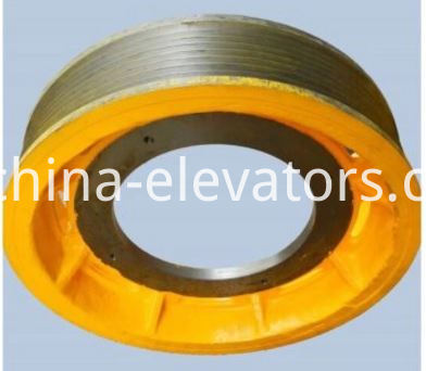 Hitachi Elevator TYF Traction Sheave