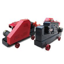 Máquina cortadora de barras de acero de tipo pequeño