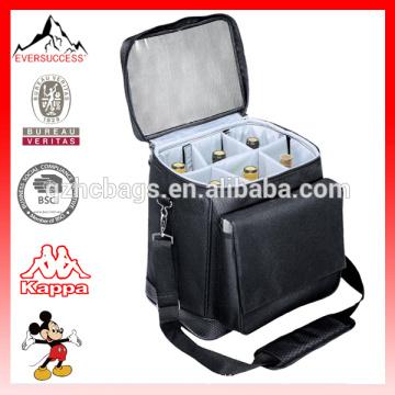 Customize Picnic Wine Cooler Bag for 6 Bottles (ESX-LB286)