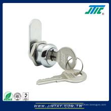 Large Flat Furniture Cam Key Lock - Full Size