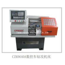 China Mini Lathe Machine Czk0640A CNC Lathe Drill Mill Tap CNC Machine