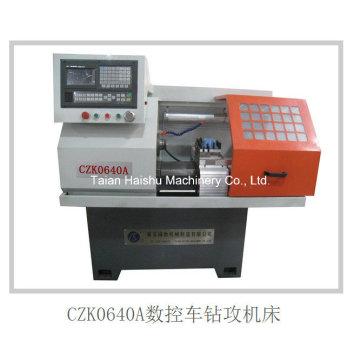 China Mini Torno máquina Czk0640A CNC Lathe broca Mill Tap CNC máquina