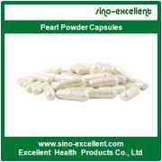Pelle capsule Sbiancamento polvere di perla