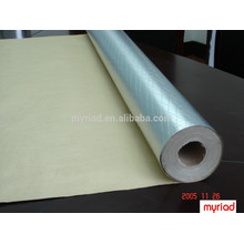 Aluminum foil laminated with kraft, Foil-Scrim-Kraft Facing