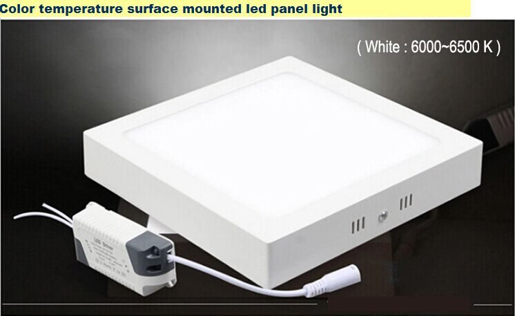 led surface mounted panel light