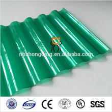 2017 nouveau produit feuille de toiture en polycarbonate