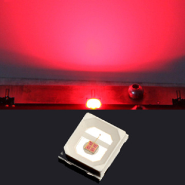 Ultra brillante 2835 rojo LED 3W Epistar Chips