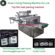 Gzb-350A High Speed Pillow-Type Wall Switch Top Film Wrapping Machine