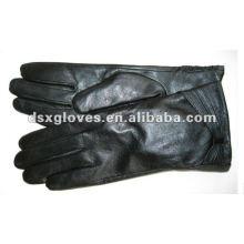 Женские зимние перчатки со складкой на запястье