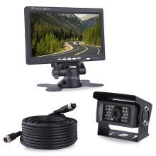 Monitor de alta velocidade do LCD do veículo do sistema de monitoramento 7Inch com a câmera do IR da visão noturna