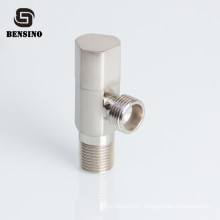 bathroom Round Triangle shape water inlet brass angle valve for toilet