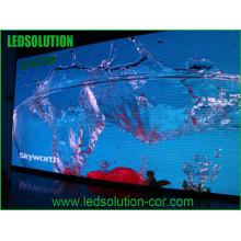Placa completa exterior do sinal do diodo emissor de luz da propaganda de cor P10 da propaganda de Ledsolution
