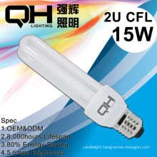 2U Tube Sex Energy Saving Lamp Energy Saving Light CFL Bulb