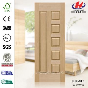 Engineered White Oak Veneer Chamber Door Skin