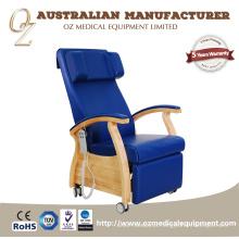 Sofás de hospital motorizados médicos da cadeira da coleção do sangue das cadeiras